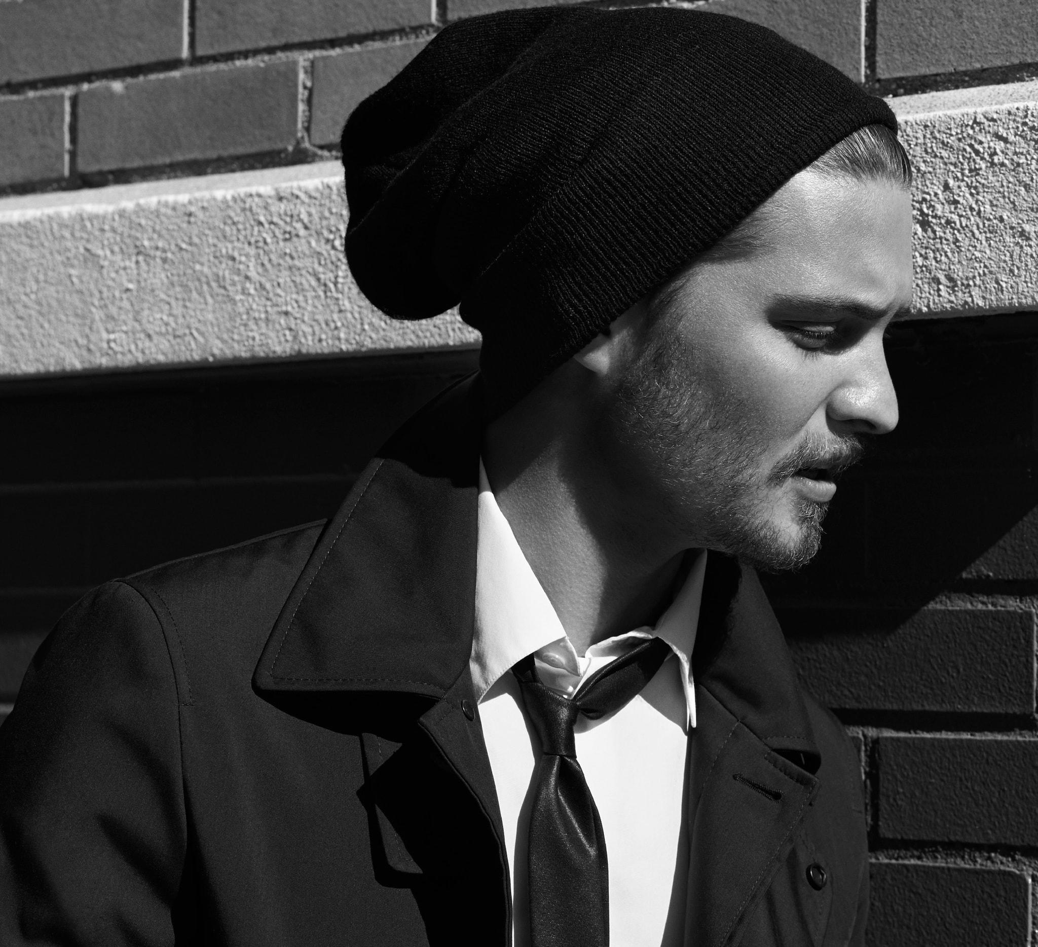 Nylon and polyester jacket tim coppens Poplin shirt hermès Leather tie jil sander