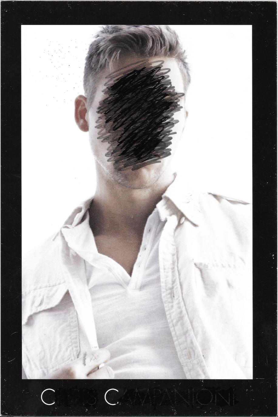My Self erasure, Front, layout