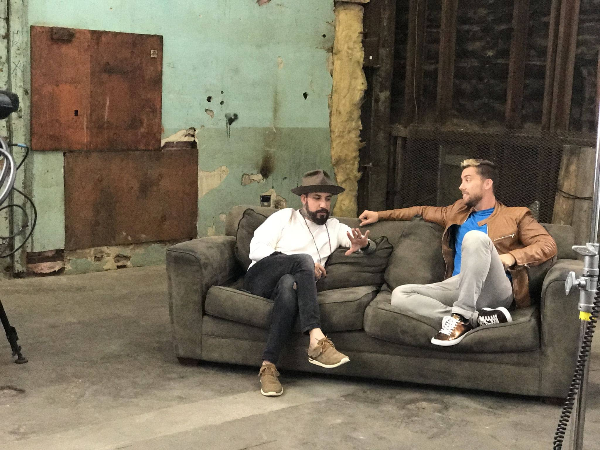 Lance Bass & AJ McLean | Photo Courtesy Pilgrim Media Group